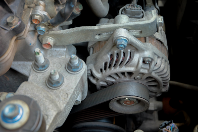 it is important to check your alternator if your battery light starts to blink on and off