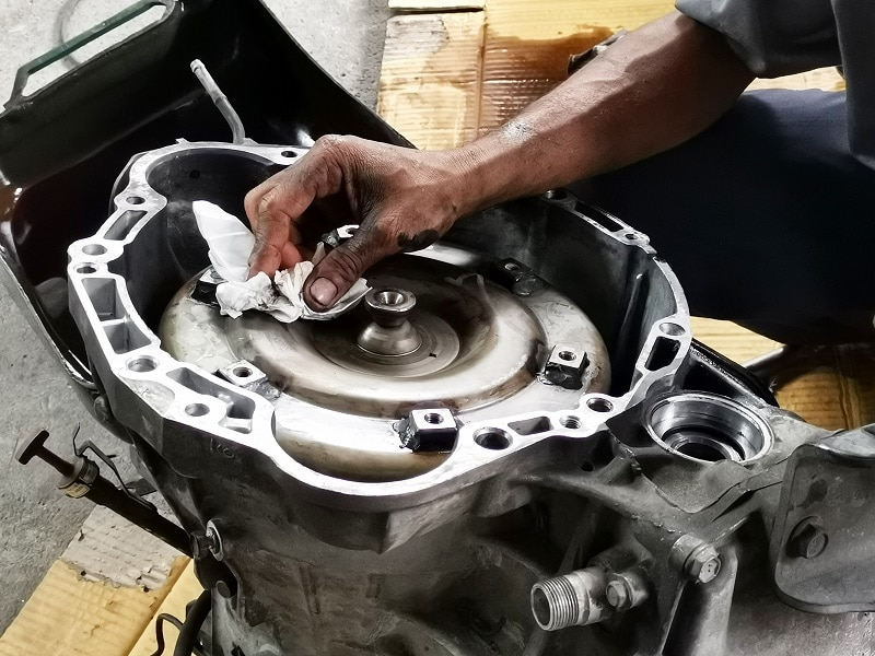 torque converter failure symptoms